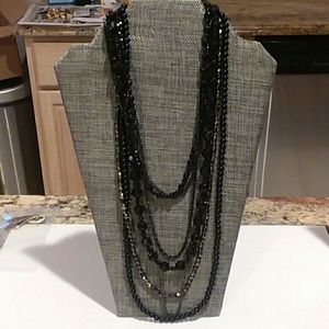 Cookie Lee Multi Strand Necklace